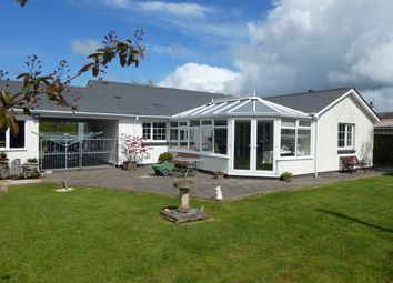 Thumbnail 3 bed detached bungalow for sale in Winllan Lane, Cross Inn, Nr New Quay