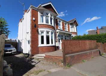 Thumbnail 3 bedroom semi-detached house for sale in Cowbridge Road East, Canton, Cardiff