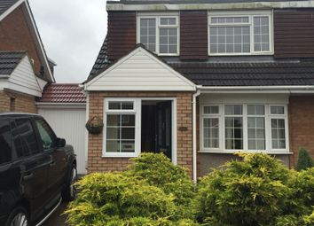 Thumbnail 3 bedroom semi-detached house to rent in Turnpike Drive, Luton