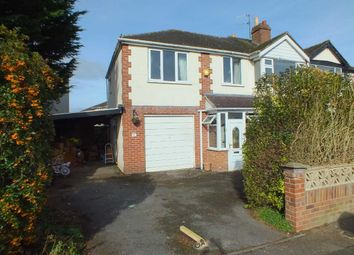 Thumbnail 4 bed semi-detached house for sale in Rutland Crescent, Trowbridge, Wiltshire