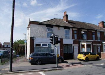 Thumbnail 3 bedroom end terrace house for sale in Shobnall Street, Burton On Trent