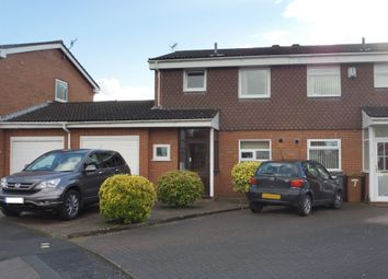 Thumbnail 3 bed semi-detached house for sale in Parkwood Close, Bromborough, Wirral