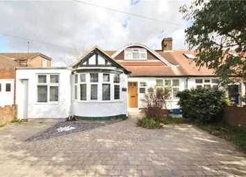 Thumbnail 4 bed semi-detached bungalow for sale in Waverley Avenue, Twickenham