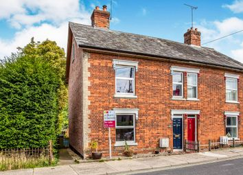Thumbnail 3 bed semi-detached house for sale in Station Road, Framlingham, Woodbridge