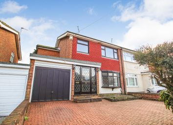 Thumbnail 4 bed semi-detached house for sale in Ray Road, Collier Row, Romford