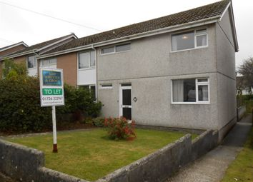 Thumbnail 3 bed detached house to rent in Gilbert Close, St Stephens, St Austell