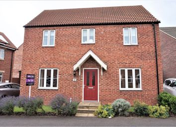 Thumbnail 3 bed detached house for sale in Amberley Close, Grimsby