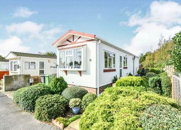Thumbnail 2 bedroom mobile/park home for sale in Kingsdown Park, Swindon