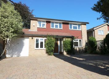 Thumbnail 4 bed detached house to rent in Mead Close, Egham
