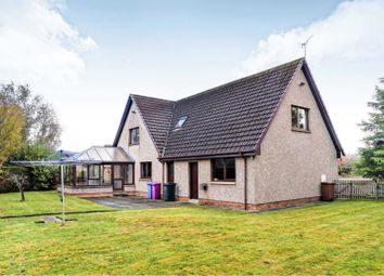 Thumbnail 4 bed detached house for sale in Mary Croft, Forres
