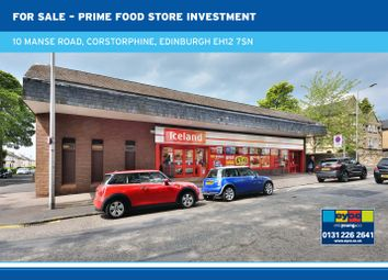 Thumbnail Commercial property for sale in Manse Road, Corstorphine, Edinburgh