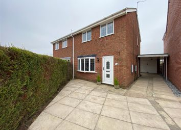 3 bed semi-detached house for sale in Chestnut Close, Snaith, Goole DN14