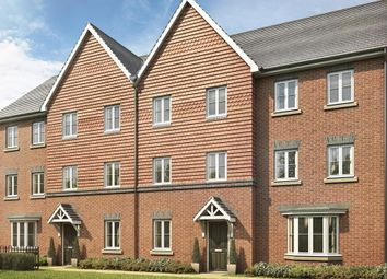 "Thumbnail 3 bedroom terraced house for sale in ""Leeman"" at Locksbridge Road, Picket Piece, Andover"