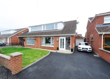 Thumbnail 3 bed semi-detached house for sale in Dermott Road, Comber, Newtownards