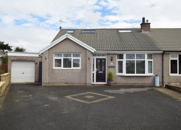 Thumbnail 3 bed semi-detached bungalow for sale in Savoy Gardens, Ulverston, Cumbria
