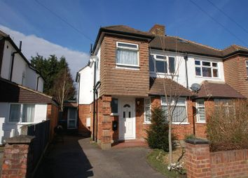 Thumbnail 3 bed semi-detached house to rent in Molesey Close, Hersham, Walton-On-Thames