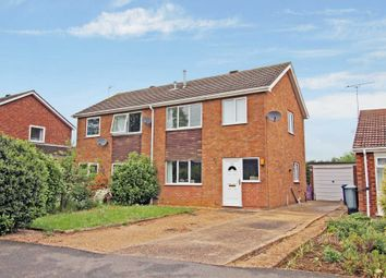 Thumbnail 3 bed semi-detached house for sale in Rivehall Avenue, Welton, Lincoln