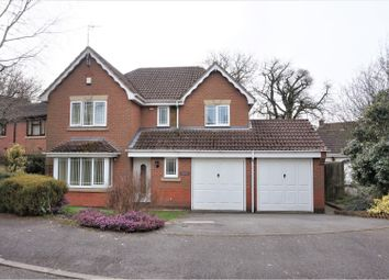 Thumbnail 4 bed detached house for sale in Teal Close, Coalville