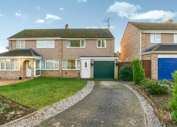 Thumbnail 3 bed semi-detached house for sale in The Hormbeams, Kempston, Bedford, Bedfordshire
