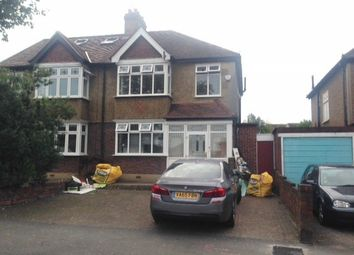 Thumbnail 3 bed semi-detached house to rent in Clarkes Avenue, Worcester Park