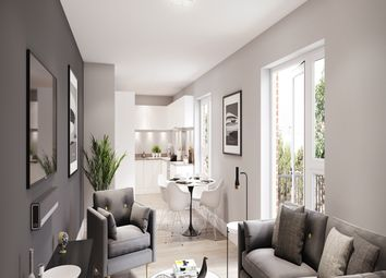 Thumbnail 1 bedroom flat for sale in Plot 3, Voyager Place, Staines-Upon-Thames