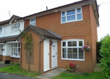 Thumbnail 1 bedroom terraced house to rent in Harvard Close, Woodley, Reading
