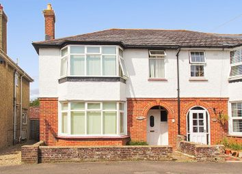 Thumbnail 4 bed semi-detached house for sale in Kings Avenue, Chichester