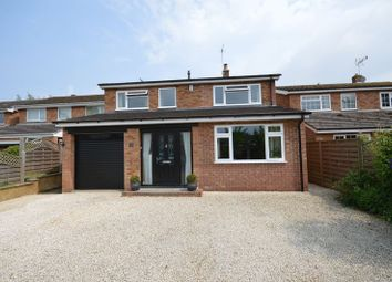 Thumbnail 4 bed detached house for sale in Quakers Mede, Haddenham, Aylesbury