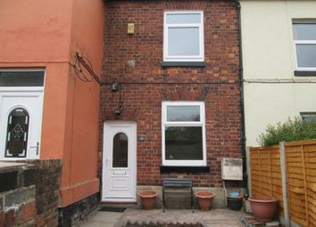 Thumbnail 3 bed terraced house to rent in Smiths Buildings, Weston Road, Meir, Stoke-On-Trent