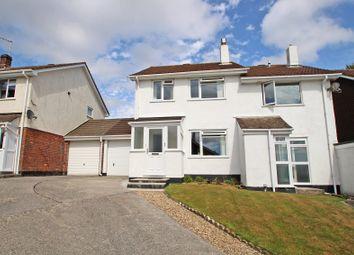 Thumbnail 3 bed semi-detached house for sale in Trematon Drive, Ivybridge, Devon