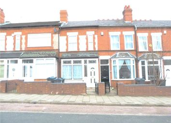 Thumbnail 3 bed terraced house for sale in Westminster Road, Selly Oak, Birmingham