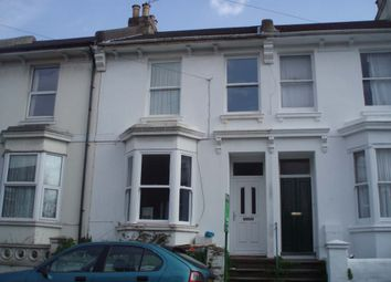 Thumbnail 3 bed terraced house to rent in Hastings Road, Brighton