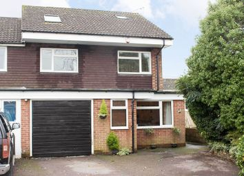 Thumbnail 4 bed semi-detached house for sale in Windermere Gardens, Totton, Southampton