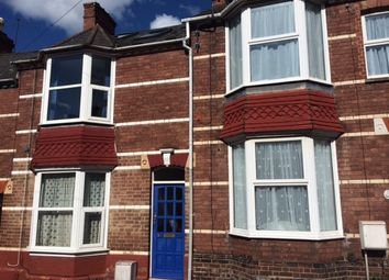 Thumbnail 4 bed terraced house to rent in Salisbury Road, Exeter