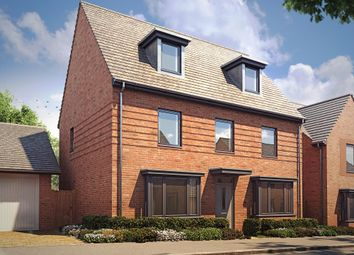"Thumbnail 5 bed detached house for sale in ""Emerson"" at Langaton Lane, Pinhoe, Exeter"