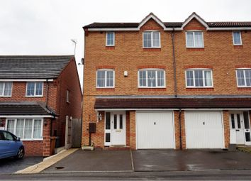 Thumbnail 4 bed end terrace house for sale in Wheelwright Close, Wednesbury