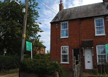 Thumbnail 2 bed end terrace house to rent in High Street North, Stewkley, Leighton Buzzard