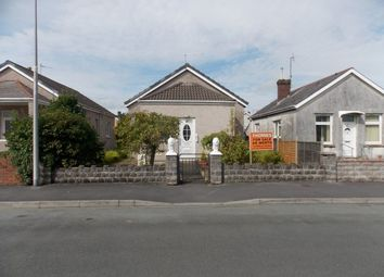 Thumbnail 3 bed detached bungalow for sale in Derwent Street, Llanelli