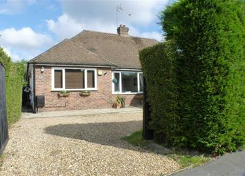 Thumbnail 3 bed semi-detached bungalow for sale in Kings Avenue, Byfleet, Surrey