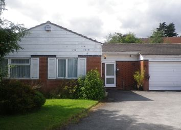 Thumbnail 3 bedroom bungalow for sale in Shelsley Drive, Birmigham