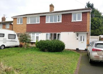Thumbnail 3 bed semi-detached house to rent in Deepmore Close, Alrewas, Burton-On-Trent