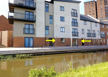 Thumbnail 1 bed flat to rent in Quay Side, Stoke-On-Trent