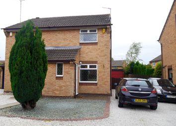Thumbnail 2 bed semi-detached house to rent in Denton Way, Swanwick, Alfreton