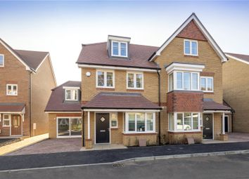 Thumbnail 4 bed property for sale in Felcott Road, Hersham, Walton-On-Thames, Surrey