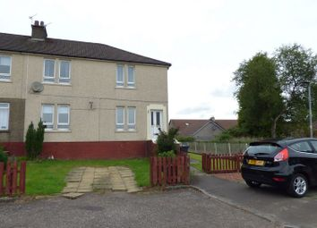 Thumbnail 2 bed flat for sale in Mid Barrwood Road, Kilsyth, Glasgow