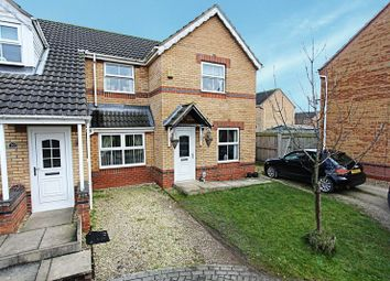 Thumbnail 2 bed semi-detached house to rent in Bowmont Way, Kingswood, Hull