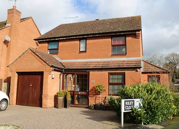 Thumbnail 4 bed detached house for sale in Riley Close, Kenilworth