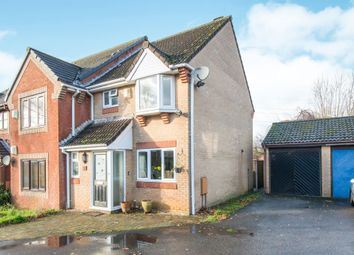 Thumbnail 3 bed end terrace house for sale in Beacon Close, Rownhams, Southampton