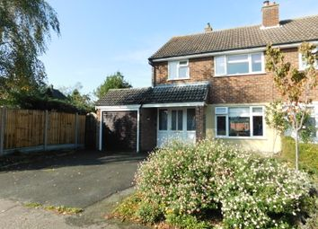 Thumbnail 3 bed semi-detached house for sale in Home Close, Stotfold, Hitchin, Herts
