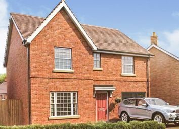 Thumbnail 4 bed detached house for sale in Ashby Road, Ullesthorpe, Lutterworth